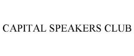 CAPITAL SPEAKERS CLUB