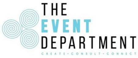 THE EVENT DEPARTMENT CREATE · CONSULT ·CONNECT