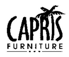 Capris Furniture Trademark Of Capris Furniture Industries Inc Serial Number 76181948