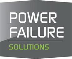 POWER FAILURE SOLUTIONS