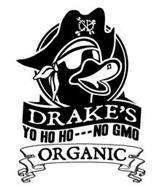CD DRAKE'S YO HO HO - - - NO GMO ORGANIC