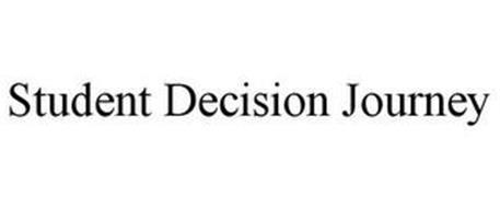 STUDENT DECISION JOURNEY