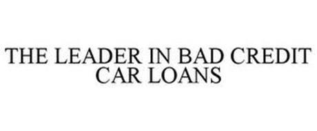 THE LEADER IN BAD CREDIT CAR LOANS