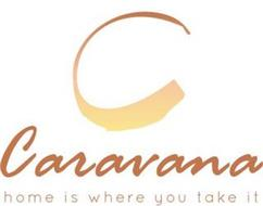 C CARAVANA HOME IS WHERE YOU TAKE IT