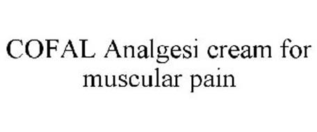 COFAL ANALGESI CREAM FOR MUSCULAR PAIN