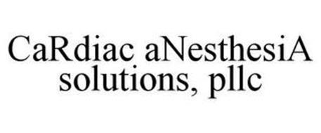 CARDIAC ANESTHESIA SOLUTIONS, PLLC