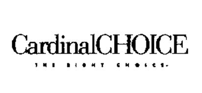 CARDINALCHOICE THE RIGHT CHOICE