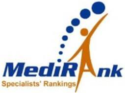 MEDIRANK SPECIALISTS' RANKINGS