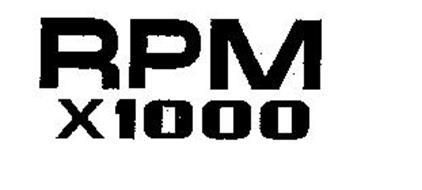 RPM X1000