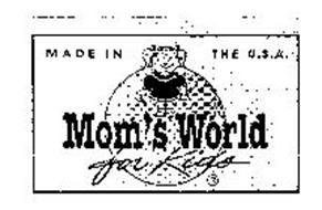 MOM'S WORLD FOR KIDS MADE IN THE U.S.A.