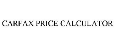 CARFAX PRICE CALCULATOR