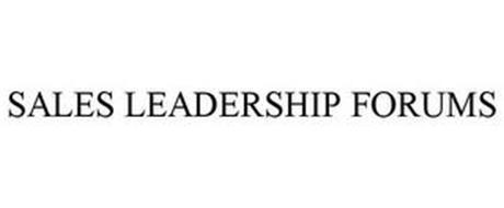 SALES LEADERSHIP FORUMS