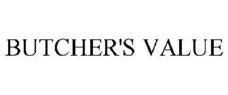 BUTCHER'S VALUE