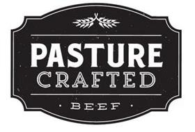 PASTURE CRAFTED · BEEF  ·