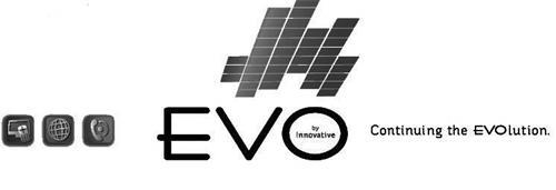 EVO BY INNOVATIVE CONTINUING THE EVOLUTION.
