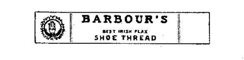 BARBOUR'S BEST IRISH FLAX SHOE THREAD TRADE MARK