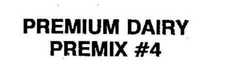 PREMIUM DAIRY PREMIX #4