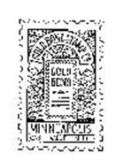 GOLD BOND STAMP CO. MINNEAPOLIS CASH VALUE 1 MILL GOLD BOND
