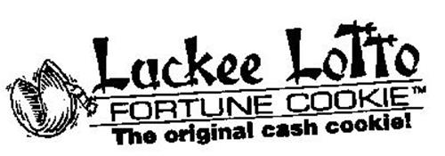 LUCKEE LOTTO FORTUNE COOKIE THE ORIGINAL CASH COOKIE!