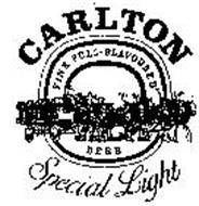 CARLTON SPECIAL LIGHT FINE FULL FLAVORED BEER