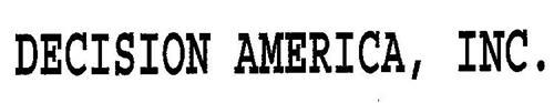 DECISION AMERICA, INC.