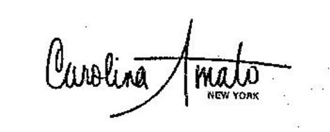CAROLINA AMATO NEW YORK