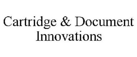 CARTRIDGE & DOCUMENT INNOVATIONS