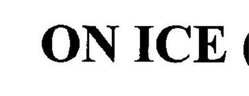 ON ICE(THREE DIMENSIONAL MARK)