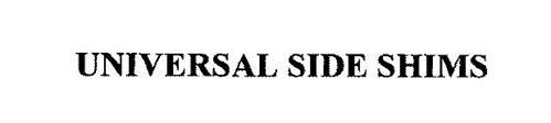 UNIVERSAL SIDE SHIMS