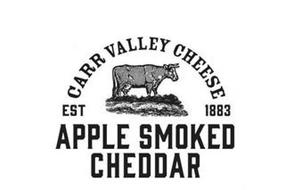 CARR VALLEY CHEESE EST 1883 APPLE SMOKED CHEDDAR