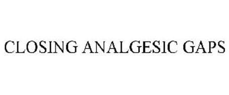 CLOSING ANALGESIC GAPS