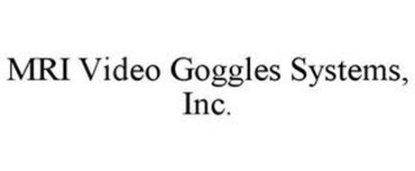 MRI VIDEO GOGGLES SYSTEMS, INC.