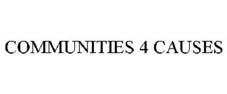 COMMUNITIES 4 CAUSES