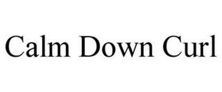 CALM DOWN CURL