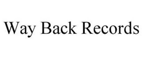 WAY BACK RECORDS