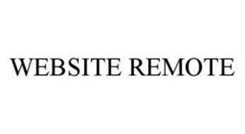 WEBSITE REMOTE