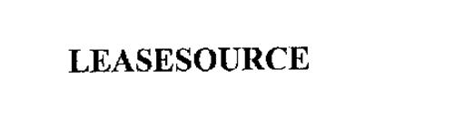 LEASESOURCE
