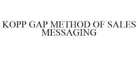 KOPP GAP METHOD OF SALES MESSAGING