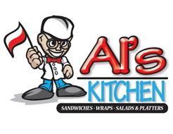 AL'S KITCHEN SANDWICHES · WRAPS · SALADS & PLATTERS