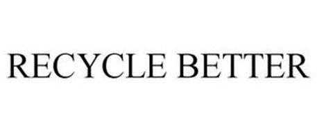 RECYCLE BETTER