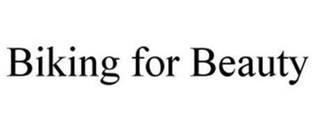 BIKING FOR BEAUTY