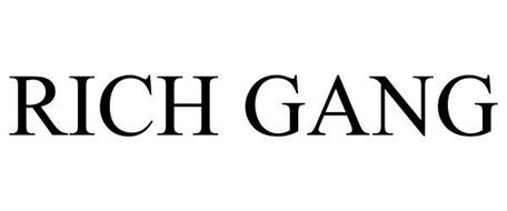 RICH GANG Trademark Of Cash Money Records Inc Serial Number