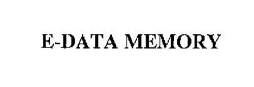 E-DATA MEMORY