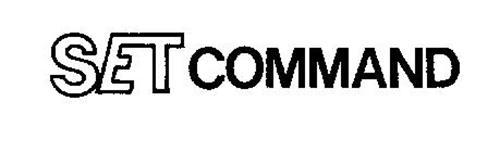 SET COMMAND