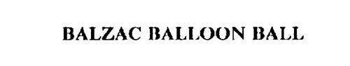 BALZAC BALLOON BALL