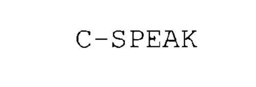 C-SPEAK