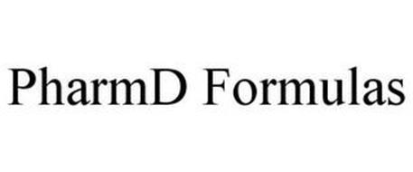 PHARMD FORMULAS