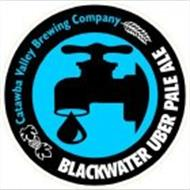 CATAWBA VALLEY BREWING COMPANY BLACKWATER UBER PALE ALE