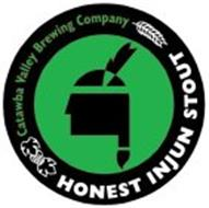 CATAWBA VALLEY BREWING COMPANY, HONEST INJUN STOUT