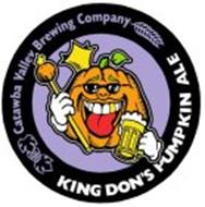 CATAWBA VALLEY BREWING COMPANY KING DON'S PUMPKIN ALE